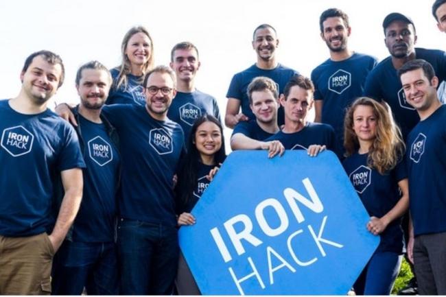 Ironhack initie au développement web le 9 mars