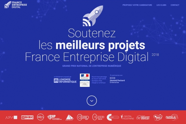 France Entreprise Digital 2018 : Les votes sont ouverts !