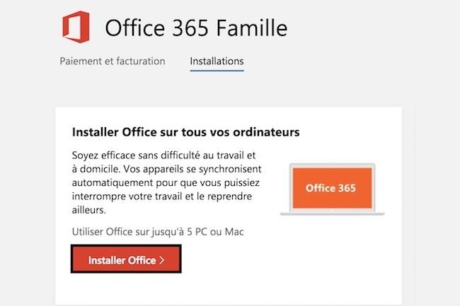 Microsoft assouplit l'usage d'Office365 Famille et Personnel