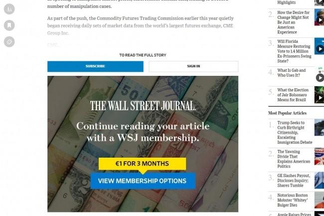 L'IA aide le Wall Street Journal à accroître ses abonnements