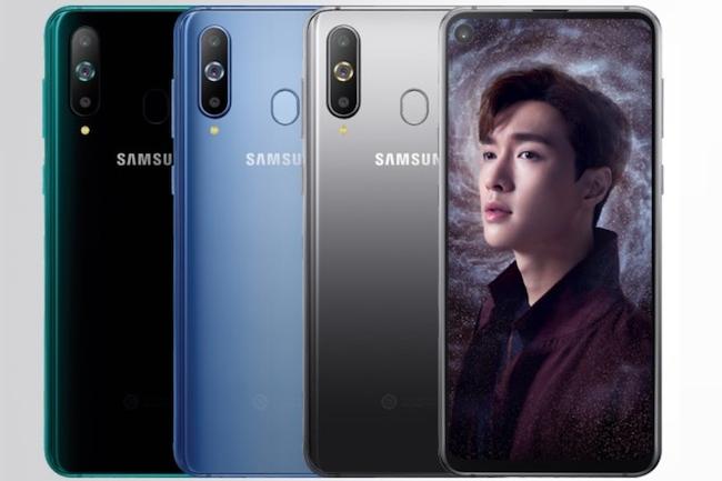 Samsung Galaxy A8s: Pas d'encoche mais un trou dans l'écran