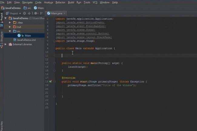 JavaFX 12 de Gluon disponible